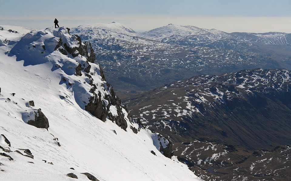 Coniston Fells from Scafell Pike, 148 kb