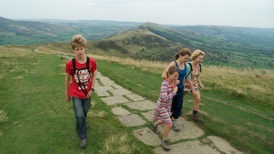 On the ridge leading up to Mam Tor from Hollins Cross, 180 kb