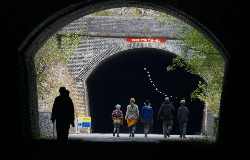 Chee Dale Monsal Trail Walk - the tunnels, 99 kb