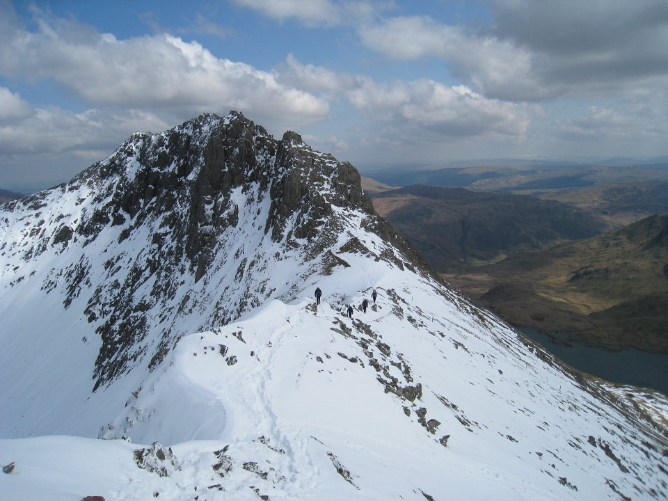 Crib Goch from the west, 143 kb
