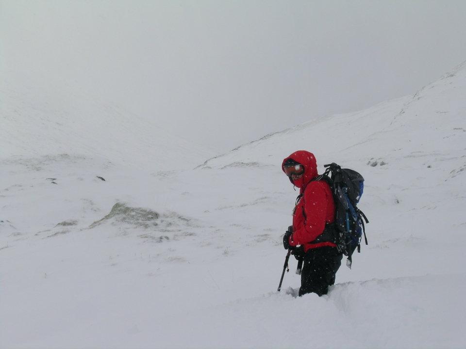 Slow going in Glen Affric, 41 kb