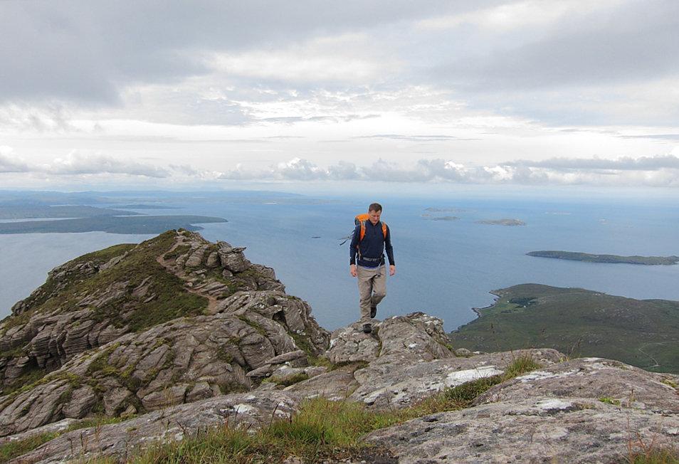 On the Garbh Choireachan ridge, 153 kb