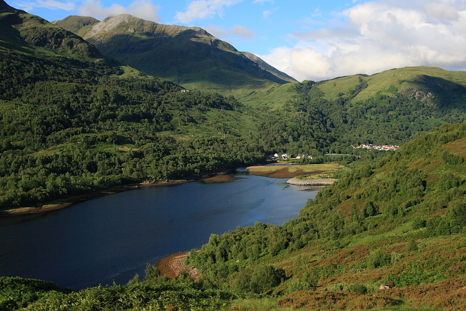 Kinlochleven and the Mamores, 181 kb