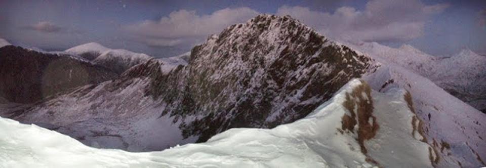 Reccying a snowy Nantlle Ridge 2, 171 kb