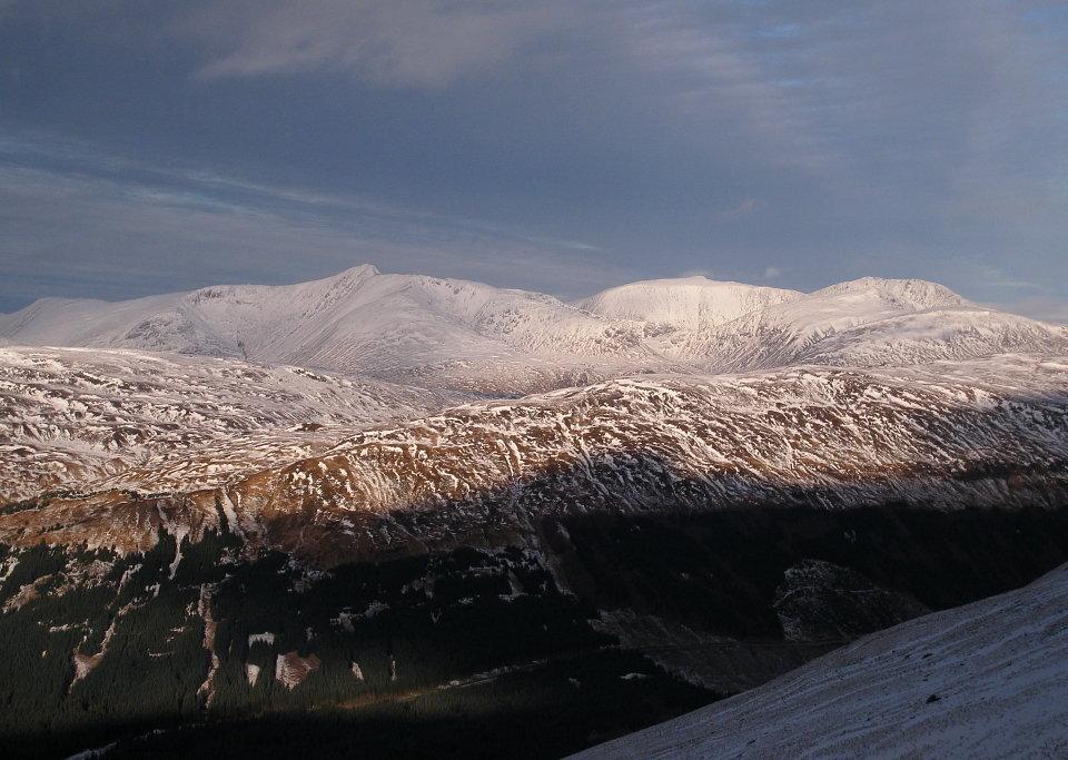 Black Mount from Beinn Udhlaidh, 132 kb