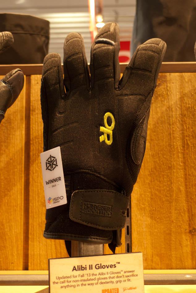 ISPO 13 Award Winners - OR Alibi II Gloves, 113 kb