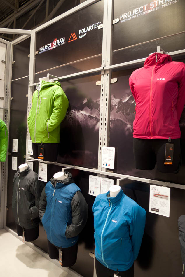 Rab Tops And Jackets Made From Polartec Alpha, 110 kb