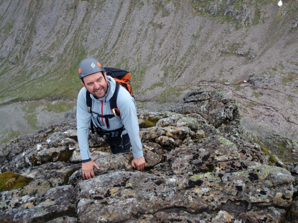 High on Ben Nevis, first of the three mountains, 214 kb