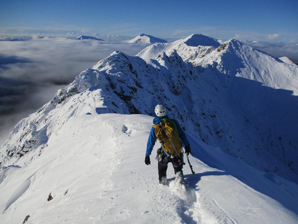 An Alpine Adventure on the Aonach Eagach Traverse - Glencoe, Scotland , 158 kb