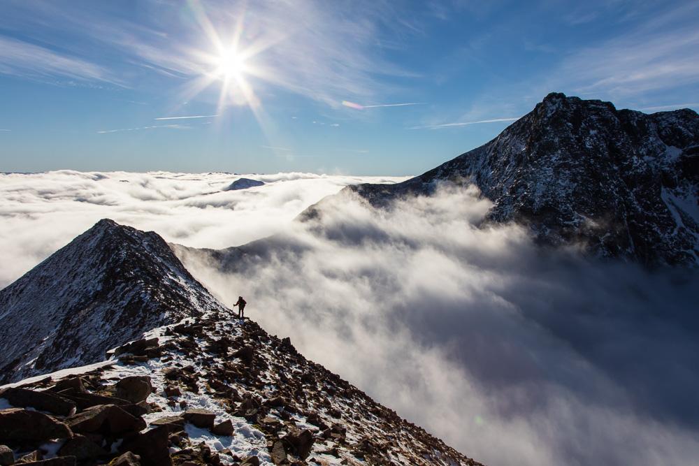 360 degree Ben Nevis cloud inversion , 227 kb