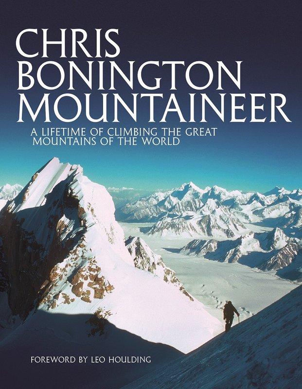 Chris Bonington Mountaineer cover, 115 kb