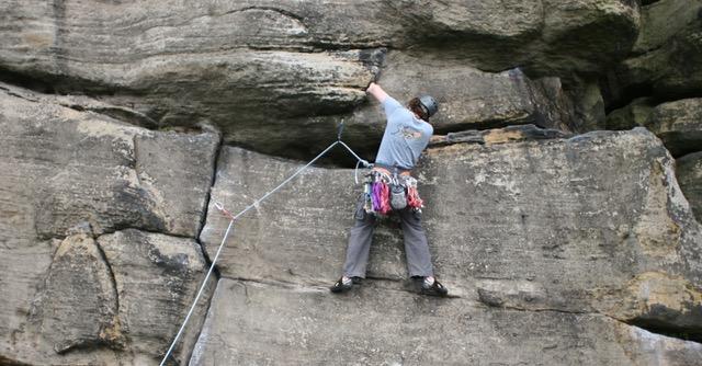 Climbing Centre Group Outdoors Almscliff, 86 kb