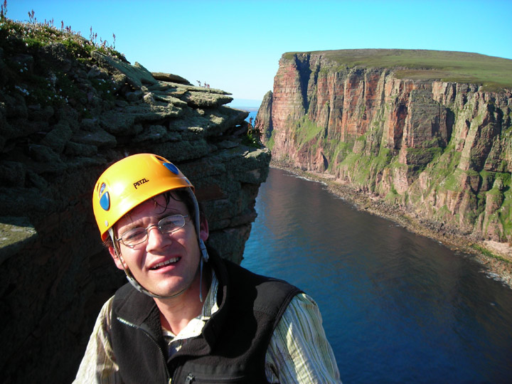 Summit of the Old Man of Hoy, 118 kb